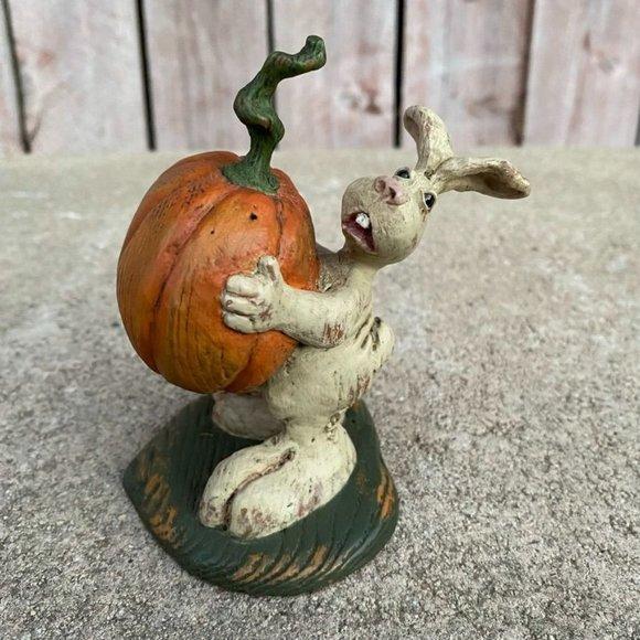 American Chestnut Folk Art Pixie's Pumpkin AM1803
